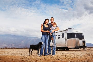Travel portraits of RV nomads
