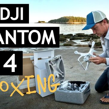 DJI Phantom 4: Unboxing and first flight footage