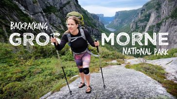 Backpacking Gros Morne National Park