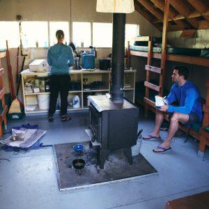 Inside the Burn Hut, San Juan Mountains