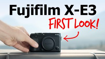 Fujifilm X-E3: First Look